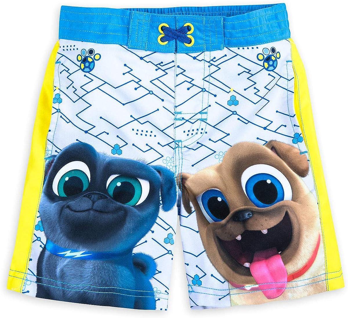 Disney Puppy Dog Pals Rash Guard for Boys Multi