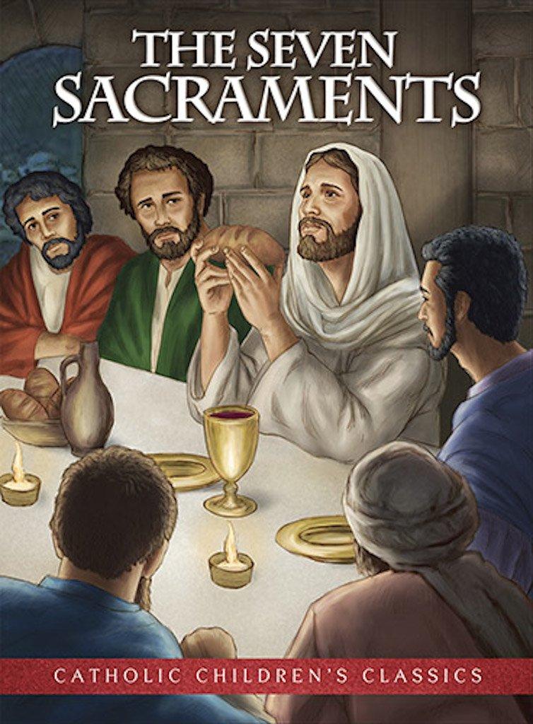 12PC Seven Sacraments, The - Kids Picture Book