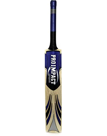 Pro Impact Cricket Bat - Full Size, Lightweight & Strong - Ideal Training or Practice