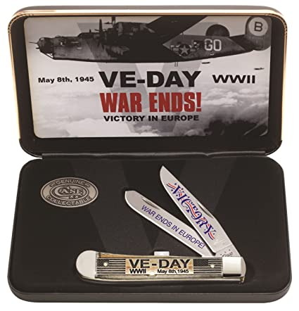 Amazon.com: Caso cubertería ca11951 ve-day Conmemorativa ...