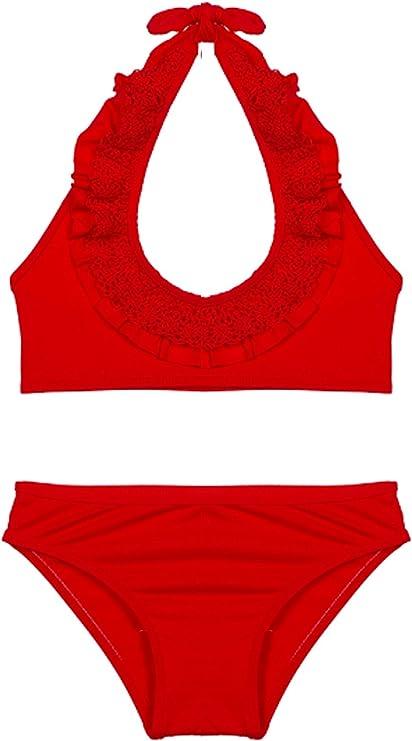 Nueces Bikini-Two Pieces Swimsuit, Rojo (España B13), 6 años ...