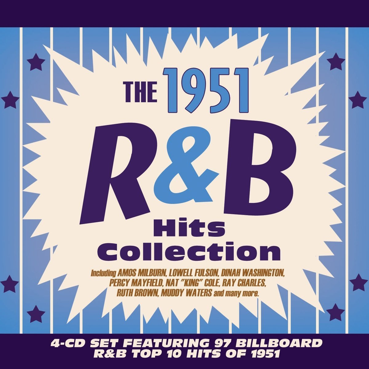 CD : VARIOUS ARTISTS - 1951 R&b Hits Collection / Various (4PC)