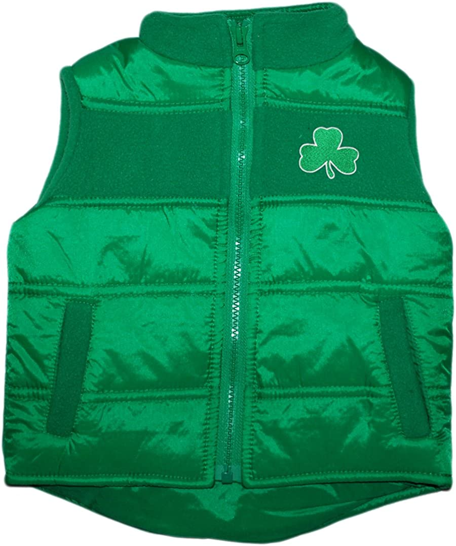 Creative Knitwear Irish Baby Shamrock Stripe Pocket Tee