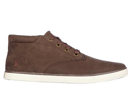 Polo Ralph Lauren Zapatos Zapatillas de Deporte Hombres en Piel ...