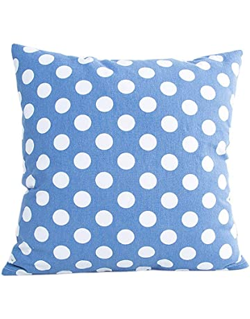 YWLINK 1PC Punto Funda de Almohada Sofá Cintura Throw Cushion Cover Decoración para el hogar Algodón