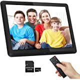 1920x1080 16:9 IPS Screen 10 inches Digital Photo Frame + 32GB SD Card HD Digital Picture Frame Widescreen, 1080P HD…