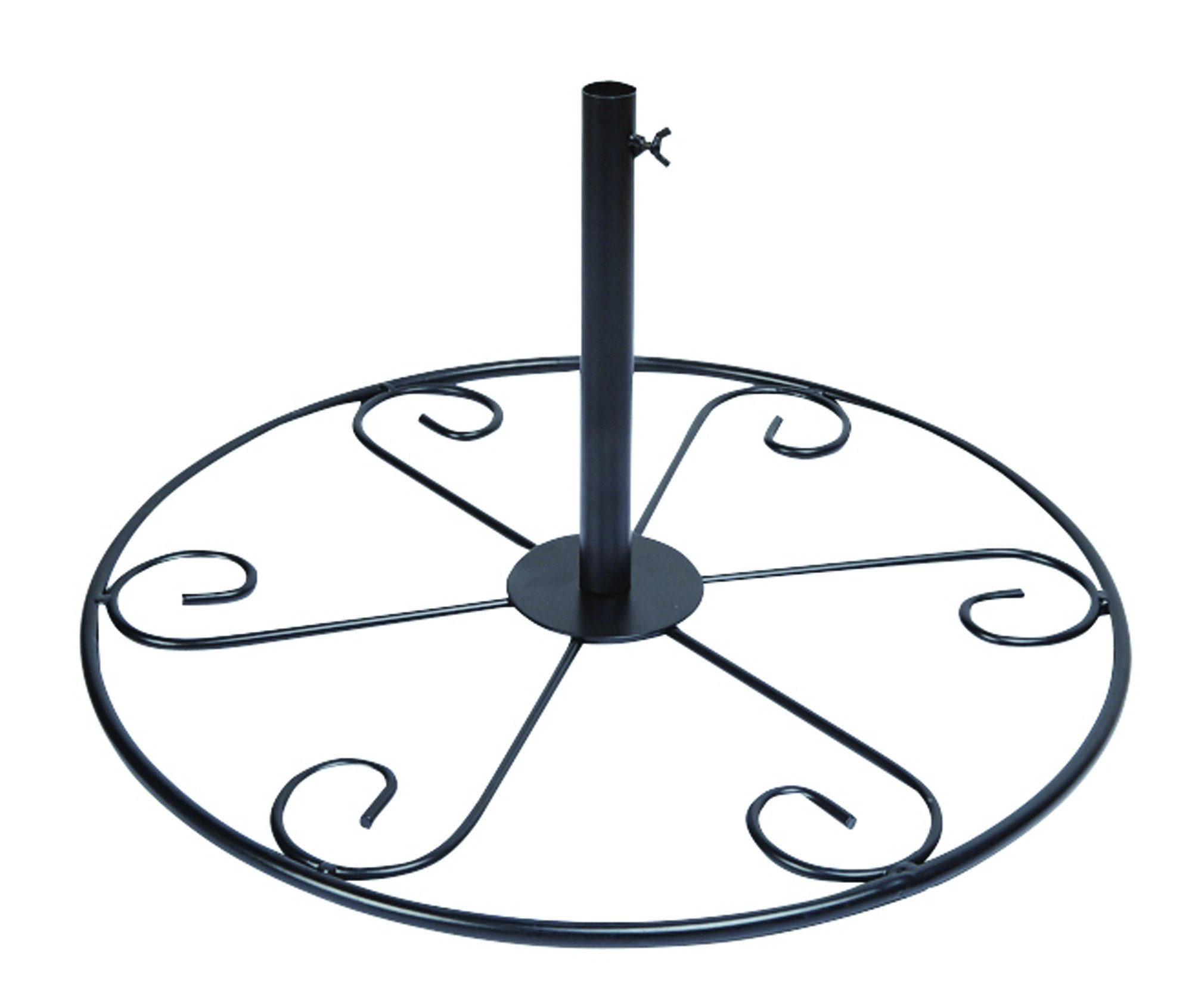 Gardman BA04388 Patio Stand, Matte Black