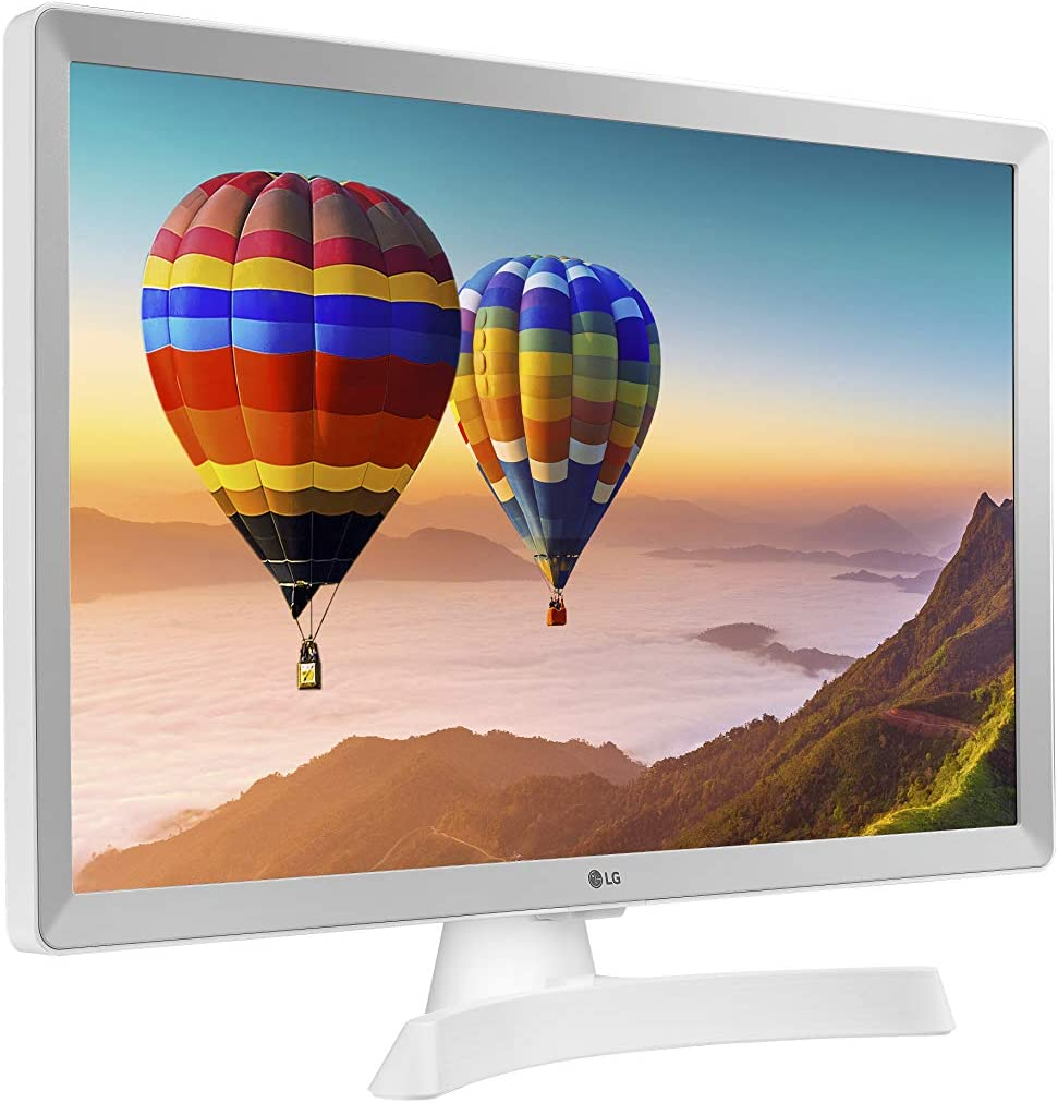 Monitor TV Negro WiFi Smart TV LG TV Led 24TN510S 24 Pulgadas HD Ready