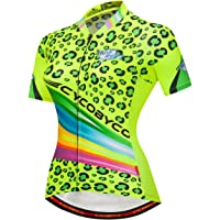 CYCOBYCO Women s Cycling Jersey Short Sleeve Reflective 703370c38