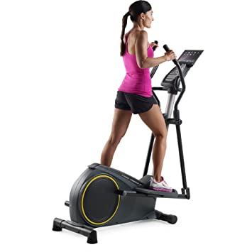 Golds Gym Stride Trainer 350i Elliptical with iFit Bluetooth Smart Technology by Golds Gym