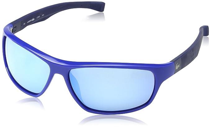 Lacoste L744S - gafas de sol Hombre, Azul (Blue Magnetic ...