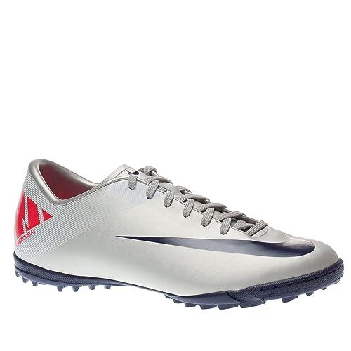 Zapatillas de fútbol sala Nike Mercurial Victory II TF 441994 051, gris: Amazon.es: Deportes y aire libre