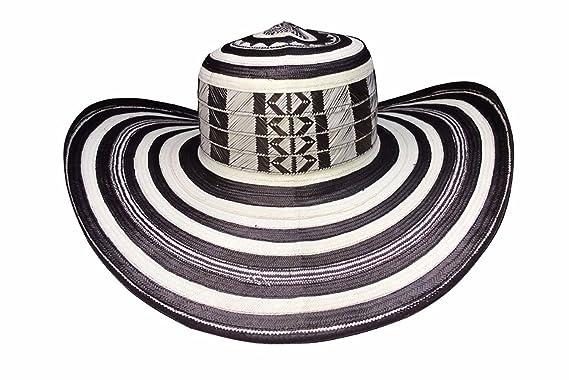 Amazon.com  Original Colombian Hat Sombrero Vueltiao 21 Vueltas Made of  Caña Flecha from Tuchín Córdoba  Clothing 1833033b5dea