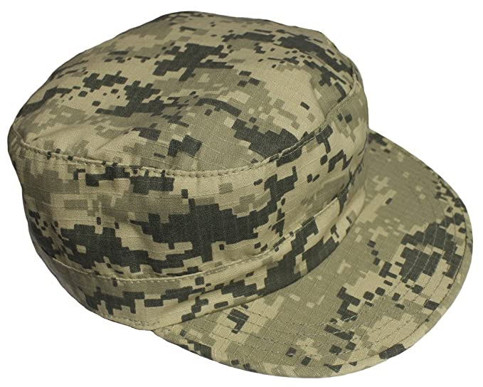 Adjustable Military Fatigue Patrol Cap ACU Digital by Mafoose at Amazon  Men s Clothing store  1e63a2cd34d