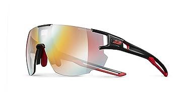 Julbo aerospeed – Gafas de Sol para Hombre, Color Negro/Rojo/Rojo