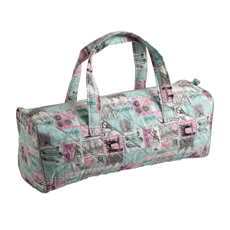 Hobby Gift HGKB/225 Notions Print Craft/Knitting Storage Bag 14x44½x16½cm Groves