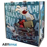 AbyStyle - Sac Shopping Caddie Lapins Crétins - 3760116324137