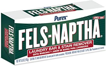 Fels Naptha Laundry Bar and Stain Remover 5 Ounce