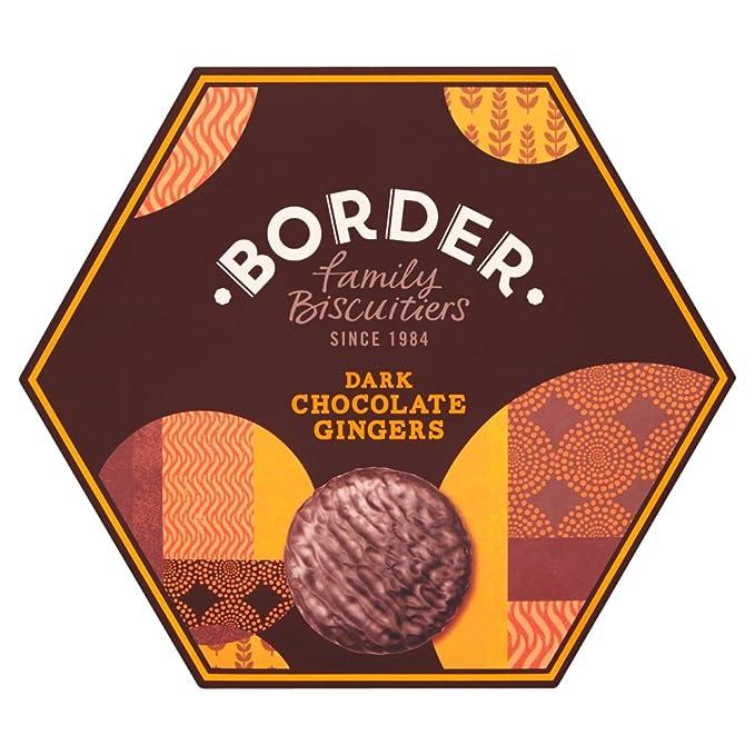 Border Biscuits, Surtido de galleta fresca (Chocolate negro y jengibre) - 500 gr
