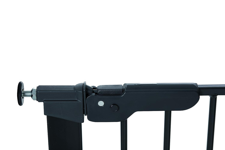 BabyDan 60114 02 85/Premier V/érifi/é T/ÜV//GS Grille de protection porte//grille de protection pour einklemmen avec rallonge