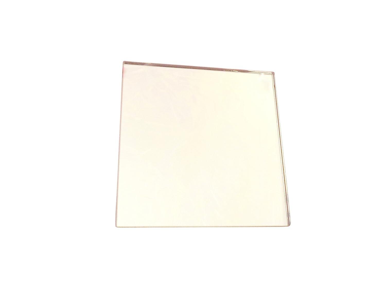 Ajax Scientific Plain Glass Mirror, 10cm Length x 10cm Width LI180-0100