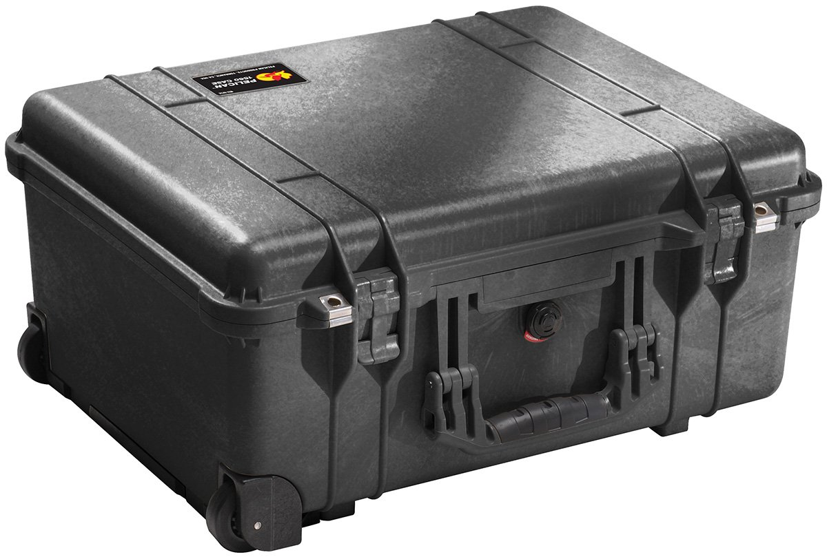 Pelican 1560 Case With Foam (Black) by Pelican
