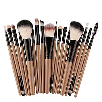 0f100e181d05 Amazon.com: Kaitobe Clearance Makeup Brush Set, 18 pcs Blending Face ...