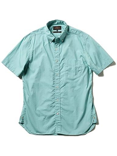 Short Sleeve Broadcloth Buttondown Shirt 11-01-0872-139: Mint Green