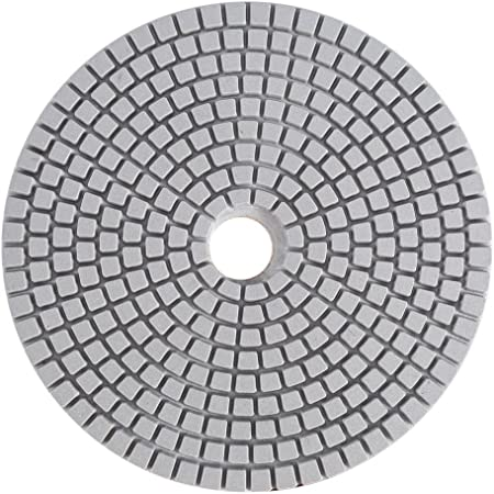 4 Inch Dry//Wet Diamond Polishing Pads Buffing Granite Concrete Marble 50//150Grit