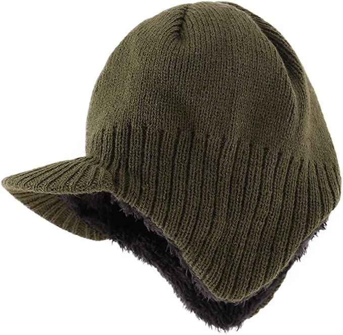 Ande Boys Winter Warm hat Soft Fleece hat Size 7-11 Years