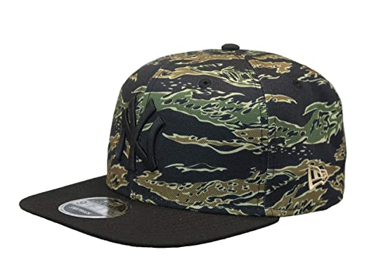8f8341c1 MLB New York Yanees World Series 1996 Tiger Stripe Camo High Crown Fifty Cap