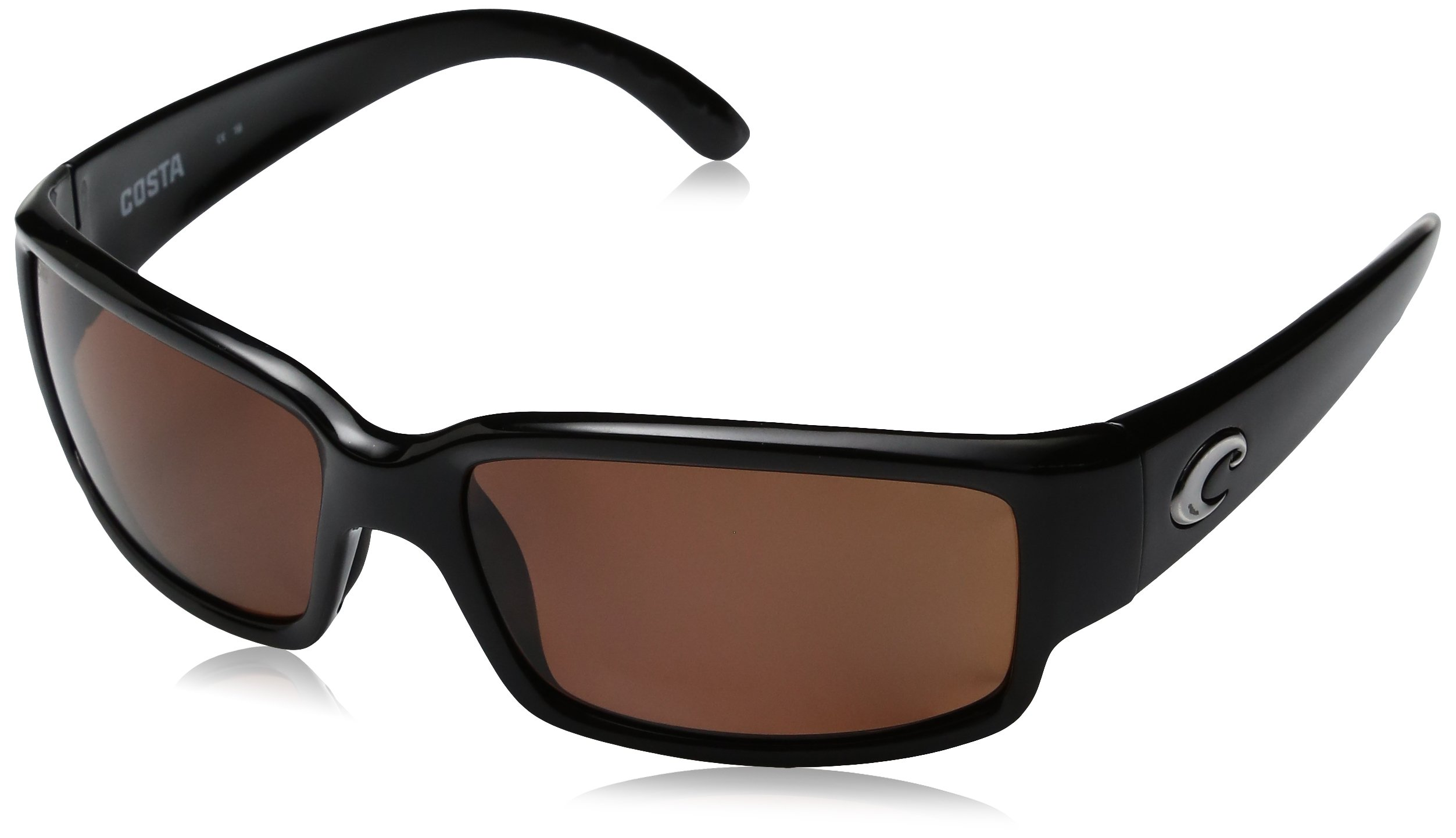 Costa Del Mar Caballito Sunglass, Black/Copper 580Plastic