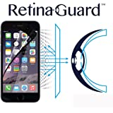 RetinaGuard Anti-blue Light Screen Protector for iPhone6S Plus / 6 Plus (Black Border) - SGS & Intertek Tested - Blocks Excessive Harmful Blue Light, Reduce Eye Fatigue and Eye Strain