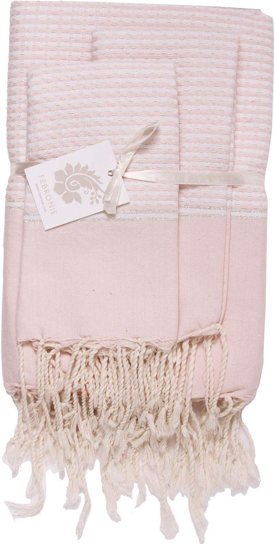 Febronie Copenhague - Servilleta, algodón, Color Rosa Pastel ...