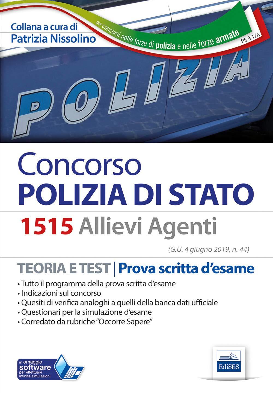 libro concorso polizia