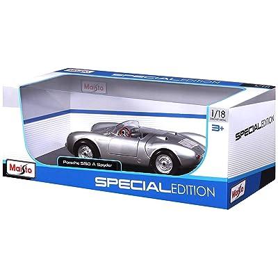 Maisto 1:18 Scale Porsche 550A Spyder Diecast Vehicle: Toys & Games