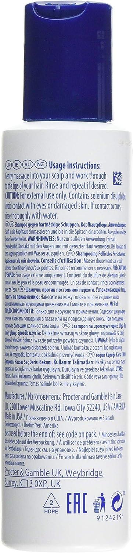 Head & Shoulders, Soluciones Champú Persistente para la Caspa del Cuero Cabelludo, fresco, 130 ml