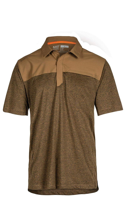 5.11 Tactical Mens Rapid Short Sleeve Polo Shirt, Anti-Odor ...