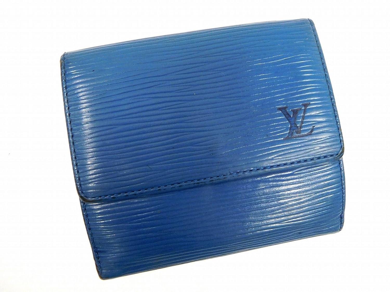 [ルイヴィトン] LOUIS VUITTON 二つ折り財布 エピ M63485 エピレザー X11491 中古 B01FM0HLWC