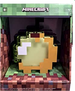 Minecraft Thinkgeek Light Up Enchanted Apple Lamp