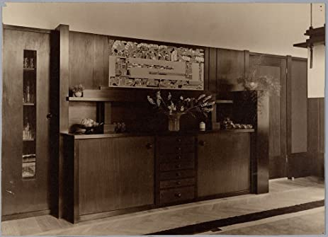 Amazon.com: POSTER A3 Betimmering eetkamer | Dining Room Wainscot ...