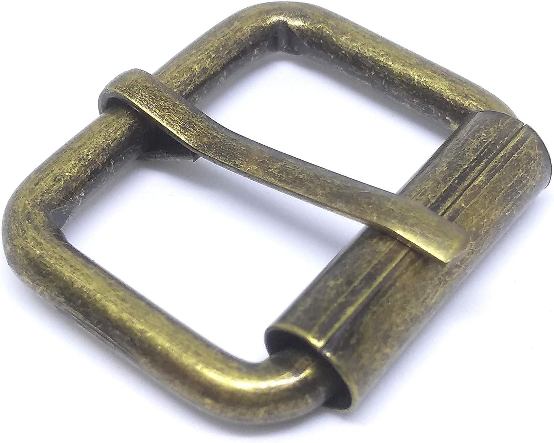 20 Pcs Single Prong Roller Buckles 19mm 25mm 32mm 38mm 50mm 3//4 1 1.25 1.5 2 for leather Belt Strap Nickle Gold Bronze Nickle-Black