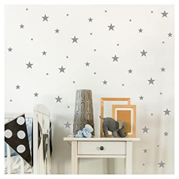 Amazoncom Stars Assorted Self Adhesive Wall Pattern Stickers Set - Self-adhesive-backsplash-set