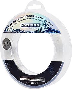 KastKing DuraBlend Monofilament Leader Line - Premium Saltwater Mono Leader Materials - Big Game Spool Size 120Yds/110M
