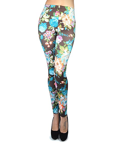 boxed-gifts Women's Soho Bold Floral Print Leggings
