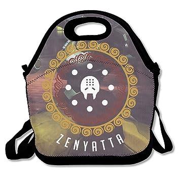 nnhaha Overwatch Zenyatta bolsa para el almuerzo Tote bolso almuerzo cajas: Amazon.es: Hogar