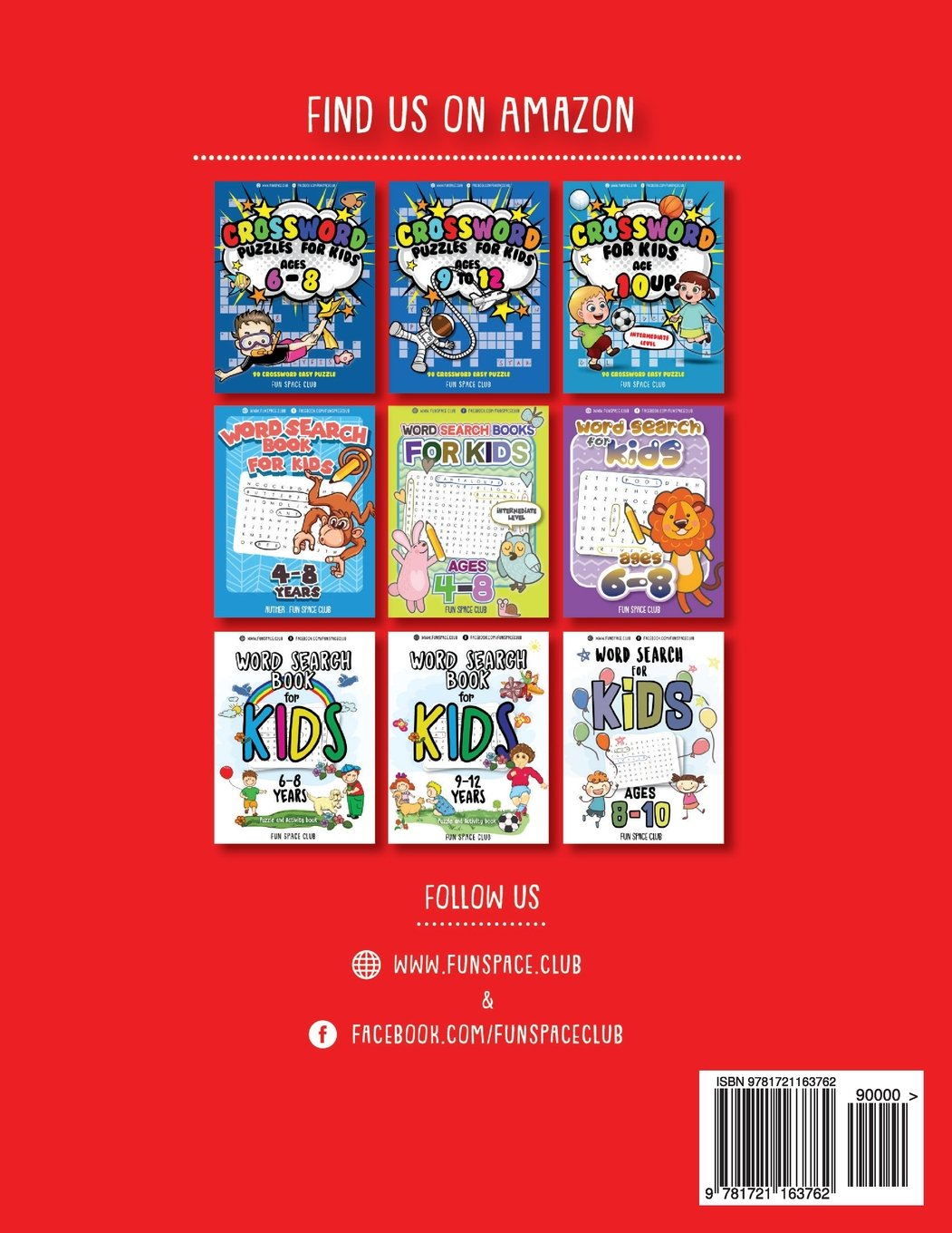Crossword Puzzles for Kids Ages 8-10: 90 Crossword Easy