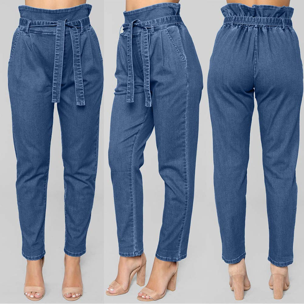 HYIRI New Classic Fashion Lazy Style Womens Jeans Denim ...
