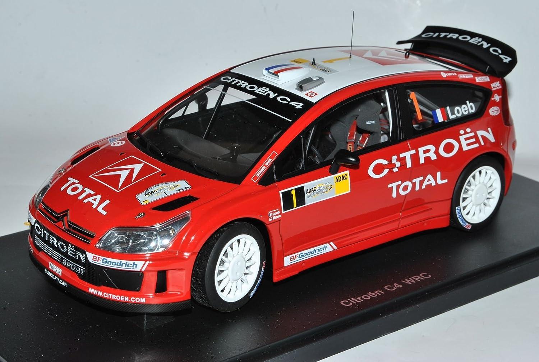 AUTOart Citroen C4 WRC Loeb Elena Gewinner Rally Deutschland 2007 80739 1 18 Modell Auto B00IQXQ7HS Miniaturmodelle Spielen Sie Leidenschaft, spielen Sie die Ernte, spielen Sie die Welt  | Haltbarer Service