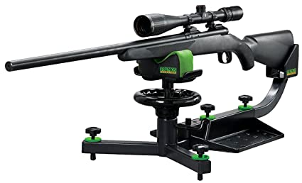 Amazon Com Rifle Shooting Rest Deluxe Tactical Stand Adjustable